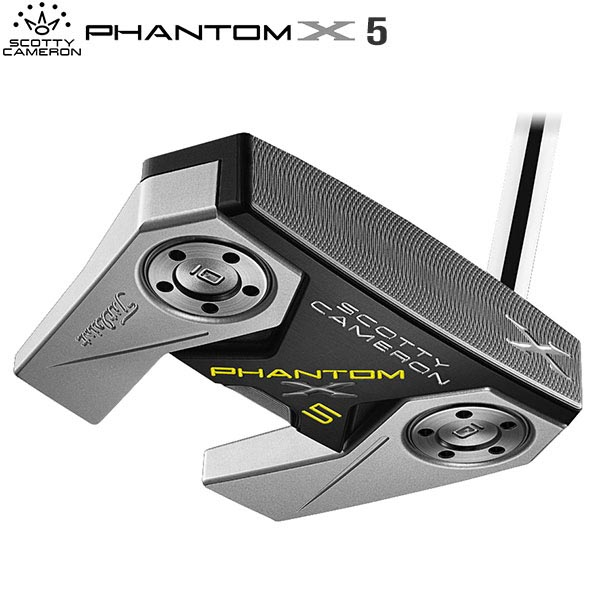 タイトリスト ゴルフ スコッティキャメロン ファントムX 5 パター SCOTTY CAMERON PHANTOM X【タイトリスト】【パター】【スコッティキャメロン】【ファントムX5】