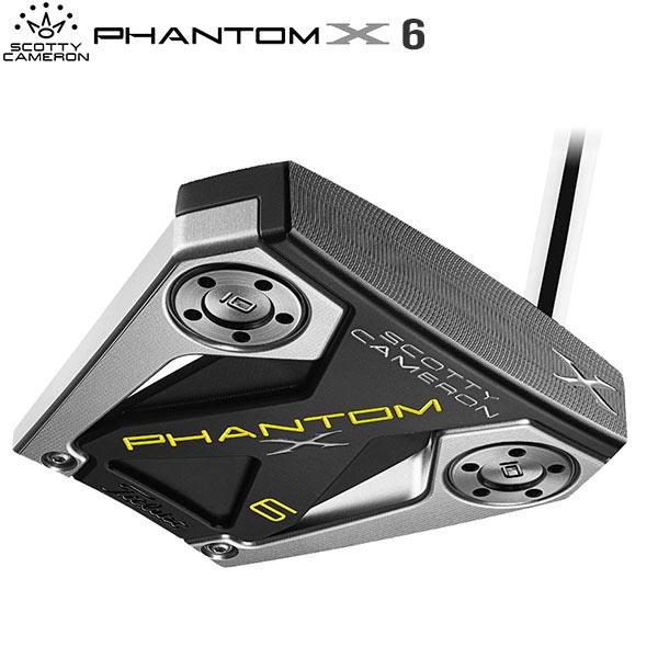タイトリスト ゴルフ スコッティキャメロン ファントムX 6 パター SCOTTY CAMERON PHANTOM X【タイトリスト】【パター】【スコッティキャメロン】【ファントムX6】
