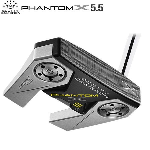 タイトリスト ゴルフ スコッティキャメロン ファントムX 5.5 パター SCOTTY CAMERON PHANTOM X【タイトリスト】