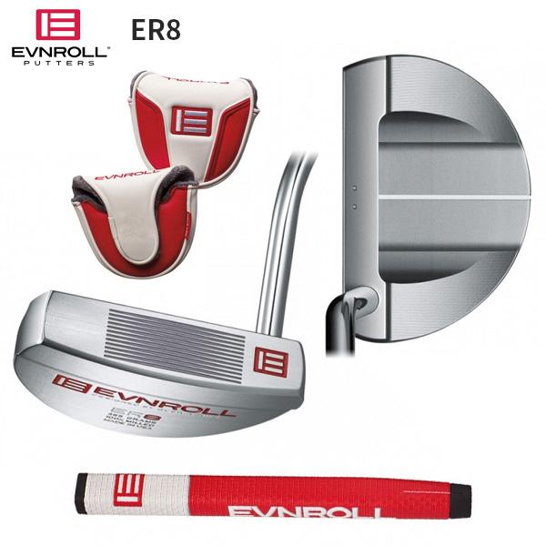イーブンロール ゴルフ ER8 ツアーマレット パター EVNROLL ER-8 TourMallet【イーブンロール】【パター】