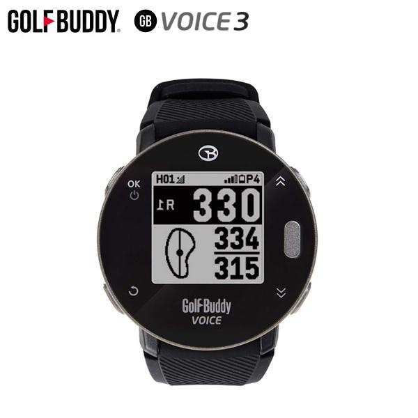 ゴルフバディ Voice3 バンドタイプ 音声型 GPSナビ GOLF BUDDY ゴルフ用飛距離測定器 ボイス【ゴルフバディ】【GPSナビ】