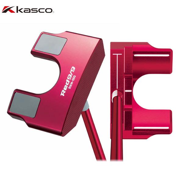 キャスコ ゴルフ RED9/9 RNM-003 ネオマレットタイプ パター Kasco アカパタ KASCO【キャスコ】【パター】