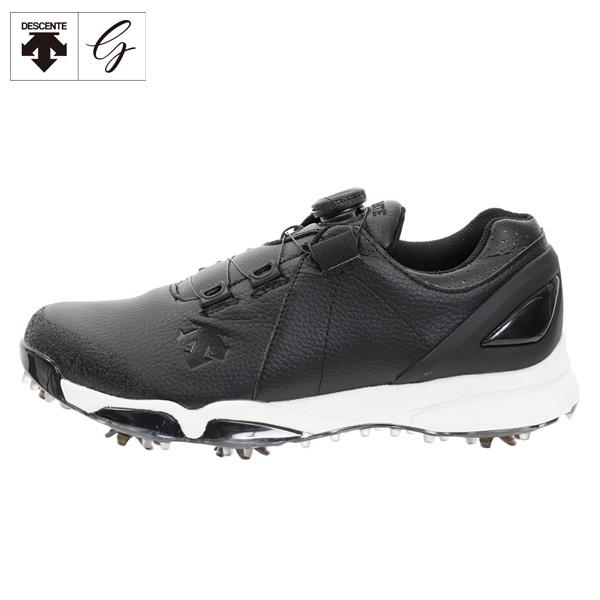 [土日祝も出荷可能]デサント ゴルフ DG2NJA00 ソフトスパイク ゴルフシューズ ブラック(BK00) DESCENTE【デサント】【ゴルフシューズ】【あす楽対応】