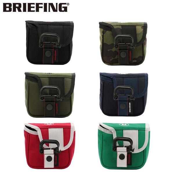 ブリーフィング ゴルフ フィドロック BRG193G55 マレットタイプ パターカバー BRIEFING FIDLOCK パター用ヘッドカバー