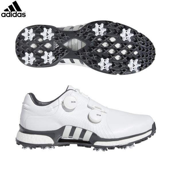 アディダス ゴルフ ツアー360 XT ツイン ボア F35401 ゴルフシューズ ホワイト/ホワイト/グレーファイブ adidas ブースト【アディダス】【ゴルフシューズ】