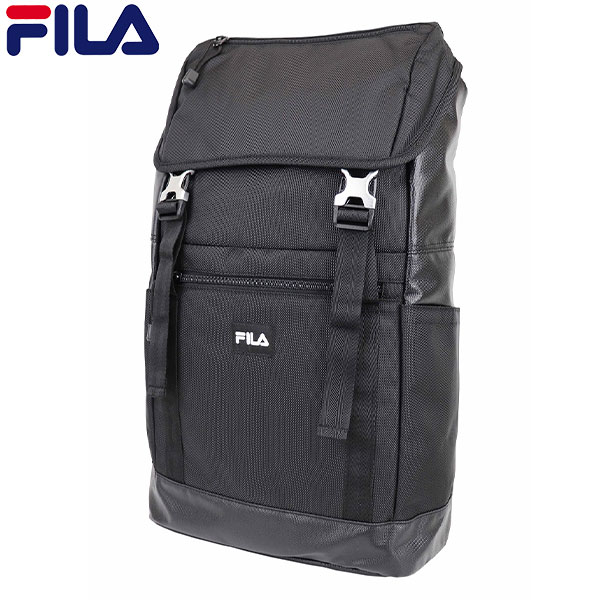 フィラ ボックスリュック TPU FL-0008 フラップ リュック ブラック FILA【フィラ】