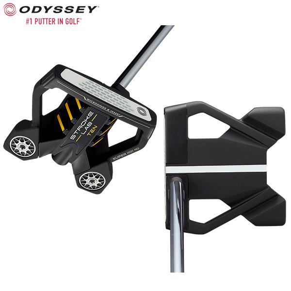 オデッセイ ゴルフ ストロークラボ ブラックシリーズ テン センターシャフト パター ODYSSEY STROKE LAB BLACK TEN CS【オデッセイ】【パター】