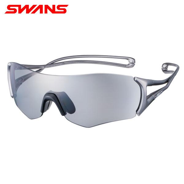 スワンズ E-NOX EIGHT8 EN8-0051 偏光レンズモデル スポーツ サングラス シルバー×シルバー×シルバー SWANS【スワンズ】【サングラス】