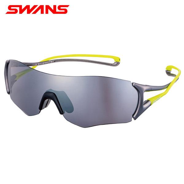 スワンズ E-NOX EIGHT8 EN8-0701 ミラーレンズモデル スポーツ サングラス マットシルバー×マットシルバー×ライムイエロー SWANS【スワンズ】【サングラス】