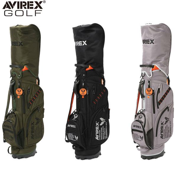 アビレックス ゴルフ FW-PA1 スタンド キャディバッグ AVIREX ゴルフバッグ