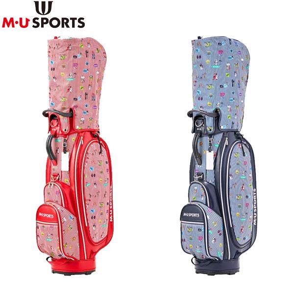 M・Uスポーツ ゴルフ 703P6110 カート キャディバッグ M・U SPORTS ゴルフバッグ【M・Uスポーツ】【キャディバッグ】