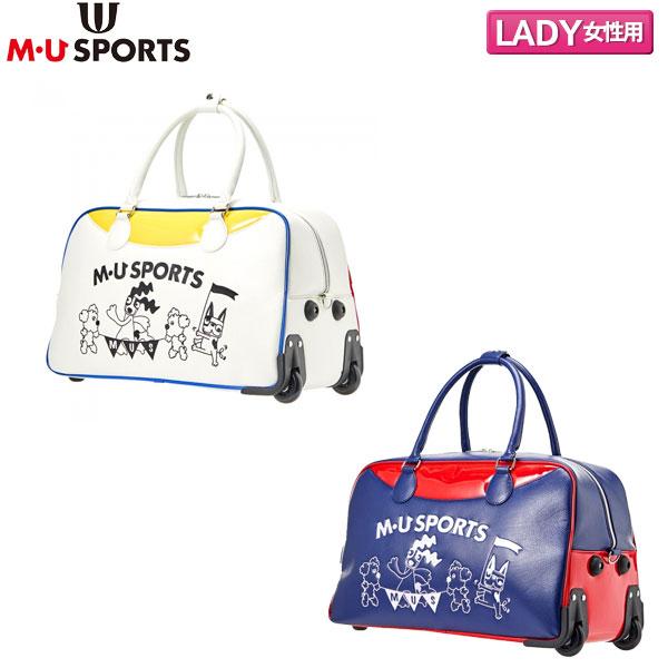 【レディース】 M・Uスポーツ ゴルフ 703P6206 トリコロール ボストンバッグ M・U SPORTS【M・Uスポーツ】【ボストンバッグ】