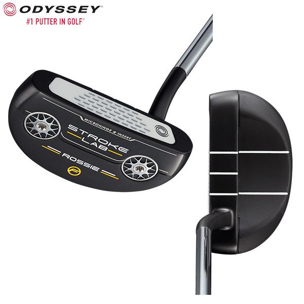 オデッセイ ゴルフ ストロークラボ ブラックシリーズ ロッシー フロー パター ODYSSEY STROKE LAB BLACK ROSSIE FLOW【オデッセイ】【パター】
