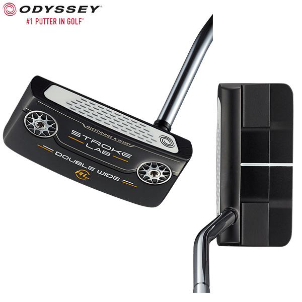 オデッセイ ゴルフ ストロークラボ ブラックシリーズ ダブルワイド アームロック パター ODYSSEY STROKE LAB BLACK DOUBLE WIDE ARMLOCK