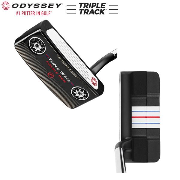 オデッセイ ゴルフ トリプルトラック ダブルワイド フロー パター ストロークラボ スチール・カーボン複合シャフト ODYSSEY STROKE LAB TRIPLE TRACK