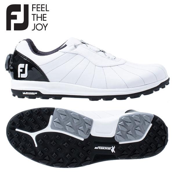 【送料無料】 フットジョイ トレッド ボア 56213 ゴルフシューズ ホワイト×ブラック FOOTJOY Boa【フットジョイ】【ゴルフシューズ】