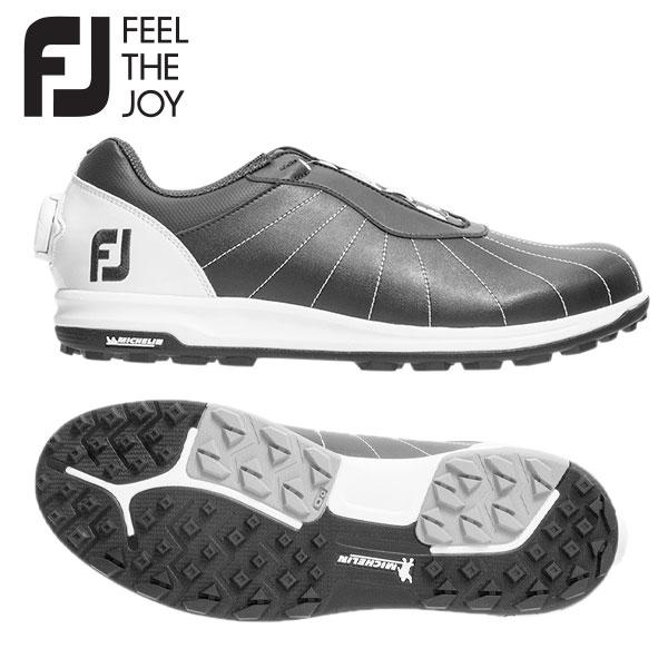 【送料無料】 フットジョイ トレッド ボア 56215 ゴルフシューズ ブラック×ホワイト FOOTJOY Boa【フットジョイ】【ゴルフシューズ】