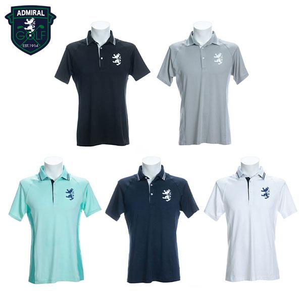 [土日祝も出荷可能]【送料無料】 アドミラル ゴルフ メンズ ADMA004 8W バックライン ポロシャツ Admiral【アドミラル】【ポロシャツ】【あす楽対応】