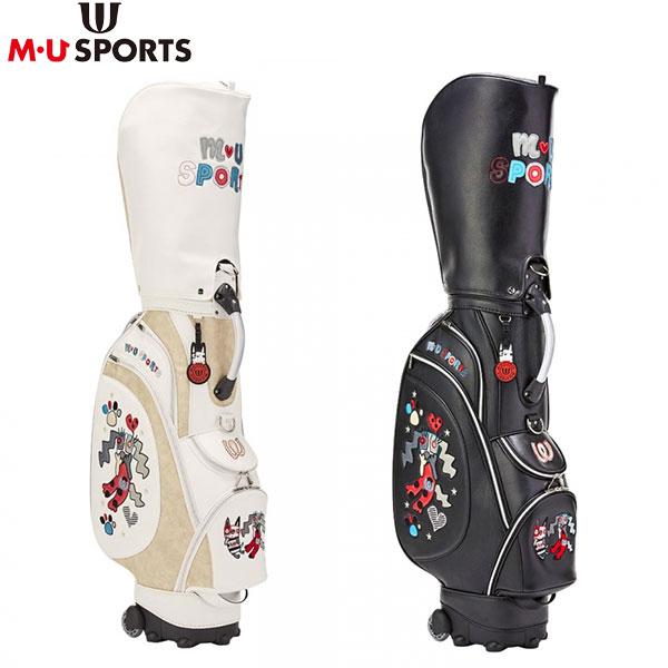 M・Uスポーツ ゴルフ スペインアート風 703P1102 ローリングソール キャディバッグ M・U SPORTS【M・Uスポーツ】【キャディバッグ】
