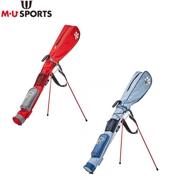 M・Uスポーツ ゴルフ デニム風 703P2404 クラブケース MU SPORTS【M・Uスポーツ】【クラブケース】