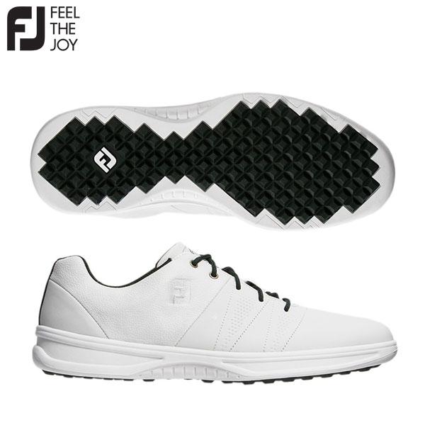 【送料無料】 フットジョイ コンツアーカジュアル 54075 スパイクレス ゴルフシューズ ホワイト FOOTJOY【フットジョイ】【ゴルフシューズ】