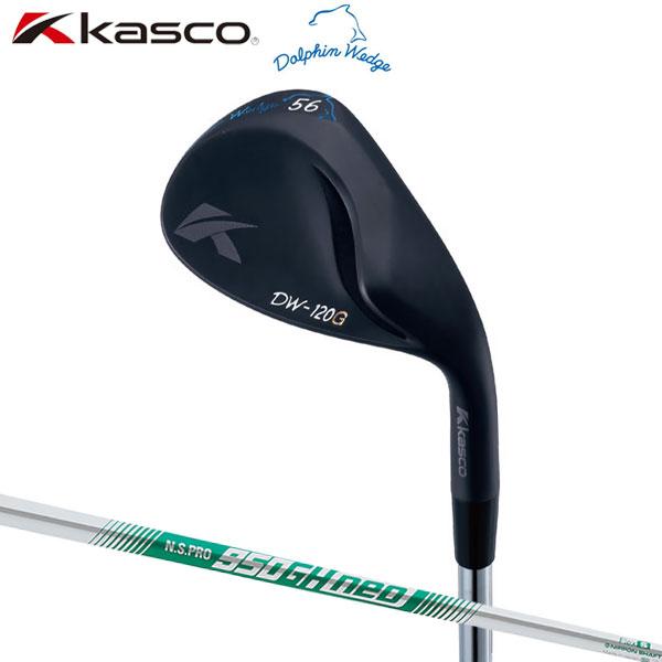 キャスコ ゴルフ DW-120G ドルフィン ブラック ウェッジ N.S.PRO 950GH neo スチールシャフト Kasco Dolphin【キャスコ】【ウェッジ】
