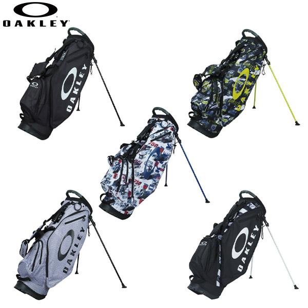 【クリアランス】 オークリー ゴルフ FOS900199 スタンド キャディバッグ WHITE PRINT(186),BLACK HEATHER(00H) OAKLEY BG STAND 14.0【オークリー】【キャディバッグ】