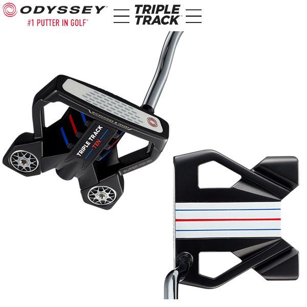 オデッセイ ゴルフ トリプルトラック テン パター ストロークラボ スチール・カーボン複合シャフト ODYSSEY STROKE LAB TRIPLE TRACK TEN