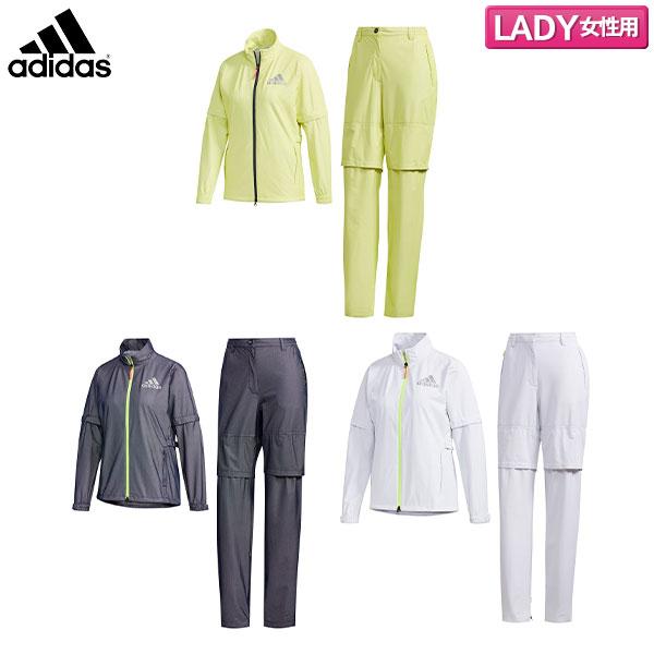 【レディース】 アディダス ゴルフ ハイストレッチ GKI54 レインスーツ レインウェア adidas 上下セット【アディダス】【レインウェア】