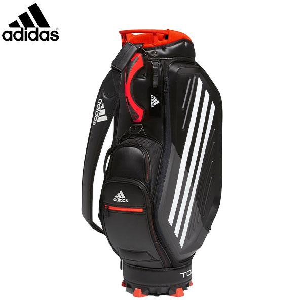 アディダス ゴルフ ツアー プロレプリカバッグ FM5506 カート キャディバッグ ブラック×ホワイト adidas【アディダス】【キャディバッグ】