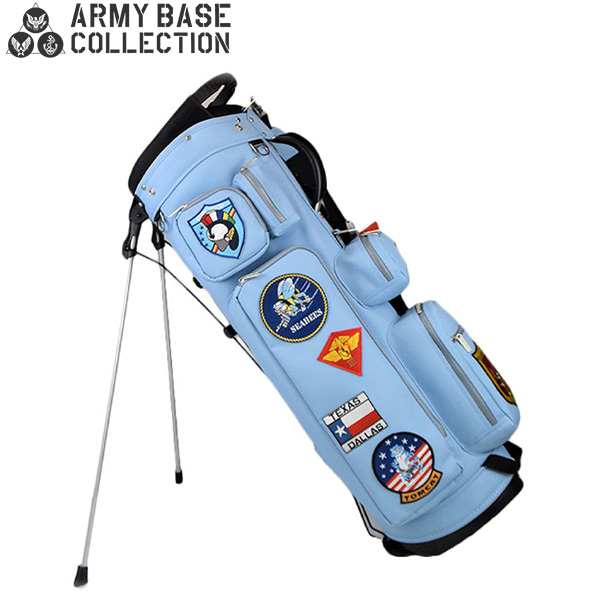 アーミーベースコレクション ゴルフ GRAY ABC-035SB スタンド キャディバッグ グレー ARMY BASE COLLECTION ゴルフバッグ マーヴェリック