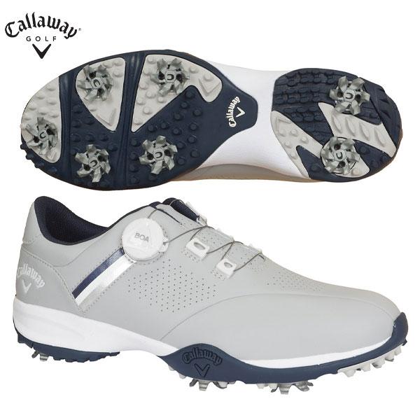 キャロウェイ ゴルフ エアロスポーツ ボア 2470996501 ゴルフシューズ グレー Callaway AEROSPORT BOA【キャロウェイ】【ゴルフシューズ】