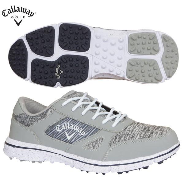 キャロウェイ ゴルフ 247-0996502 ソレイユ ゴルフシューズ グレー Callaway SOLAIRE ソレイル 2470996502【キャロウェイ】【ゴルフシューズ】【あす楽対応】