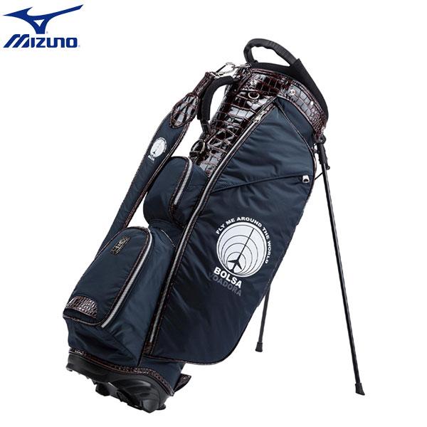 ミズノ ゴルフ ボルサヴォアドーラ スタンド 5LJC201300 キャディバッグ ネイビー(14) mizuno BOLSA STAND ゴルフバッグ【ミズノ】【キャディバッグ】
