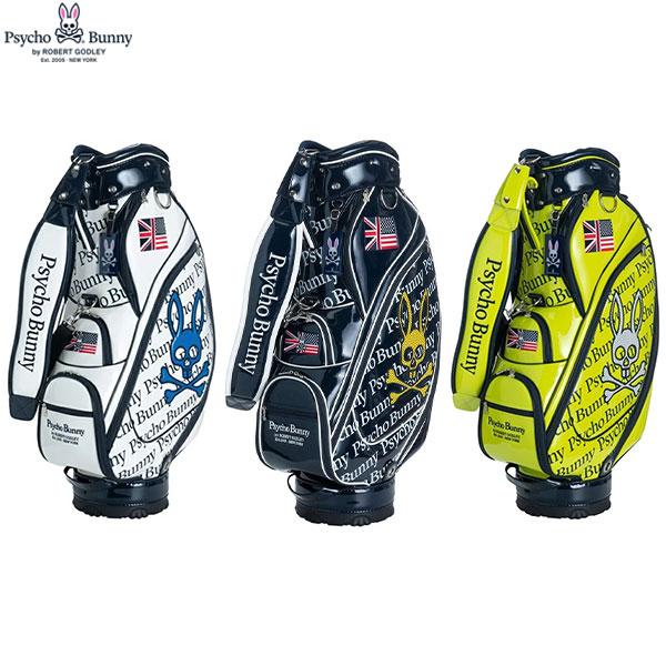 サイコバニー ゴルフ ニューネオン オールエナメル PBMG0SC3 カート キャディバッグ PSYCHO BUNNY NEW NEON ALL ENAMEL ゴルフバッグ