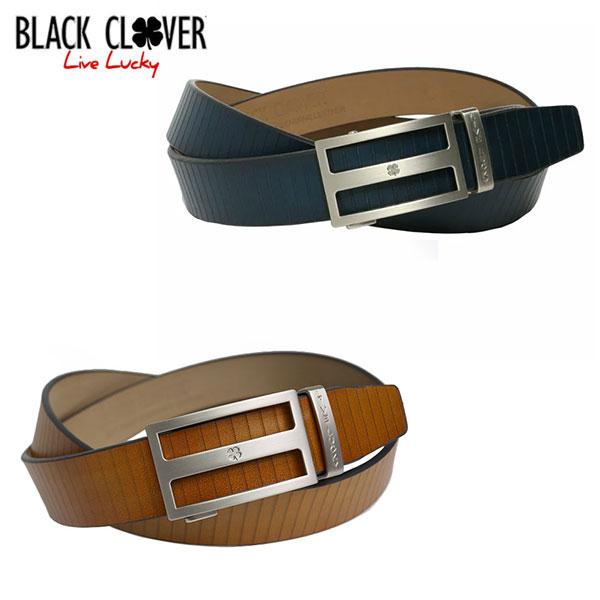 ブラッククローバー ゴルフ CLASSIC BELT BC5FFE01 ベルト ネイビー(048),タン(082) BLACK CLOVER【ブラッククローバー】【ベルト】