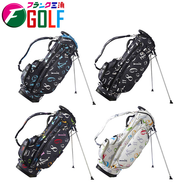 フランク三浦 ゴルフ FMG03-CB スタンド キャディバッグ STAND CADY BAG ゴルフバッグ
