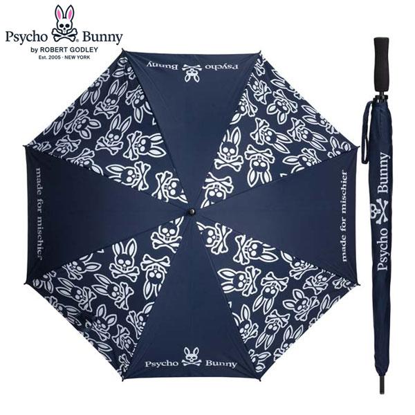 [土日祝も出荷可能]サイコバニー ゴルフ PB サマーシールド PBMG0FEX アンブレラ ネイビー(30) Psycho Bunny 傘 晴雨兼用 UVカット【あす楽対応】