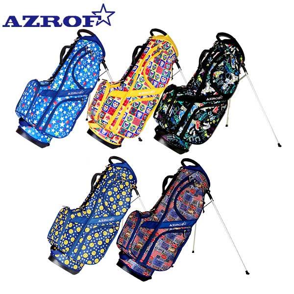 ☆2020年春夏モデル☆ アズロフ 現金特価 キャディバッグ 市場 ゴルフ AZ-STCB01 AZROF スタンド