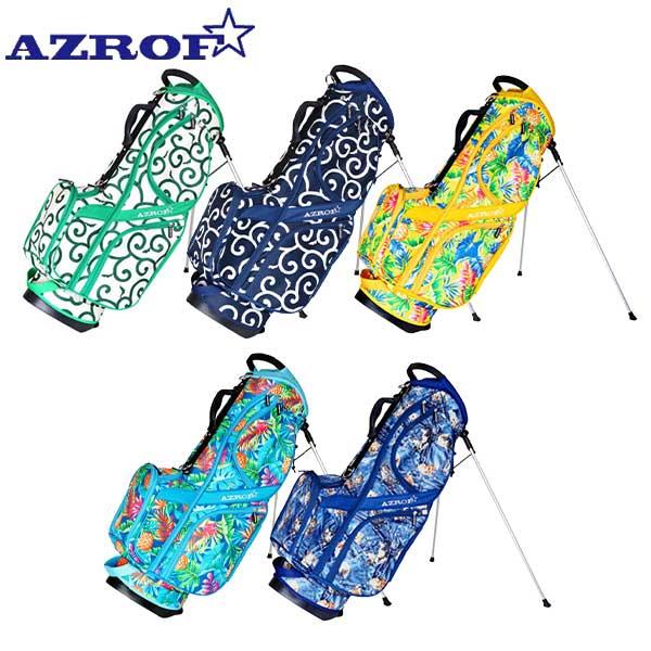 ☆2020年春夏モデル☆ セールSALE%OFF アズロフ キャディバッグ ゴルフ AZROF 卸売り AZ-STCB01 スタンド