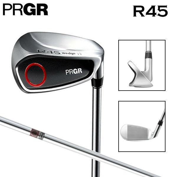 【ロフト角45度】 プロギア ゴルフ R45 チッパー ウェッジ スチールシャフト PRGR【プロギアゴルフ】【チッパーウェッジ】