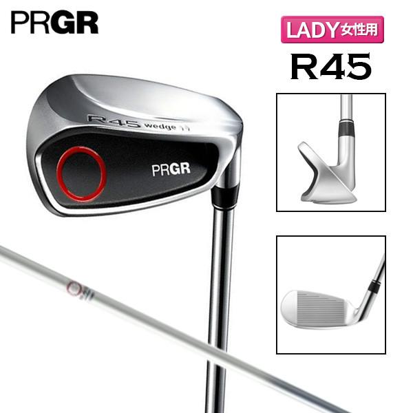 【レディース】 プロギア ゴルフ R45 チッパー ウェッジ オリジナル カーボンシャフト PRGR【プロギアゴルフ】【チッパーウェッジ】