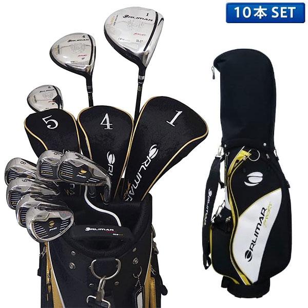 オリマー ゴルフ ORM900 クラブセット 10本組 (1W,4W,U5,#6-PW,SW,PT) アイアン:スチールシャフト キャディバッグ付き ORLIMAR ORM-900【オリマーゴルフクラブセット】
