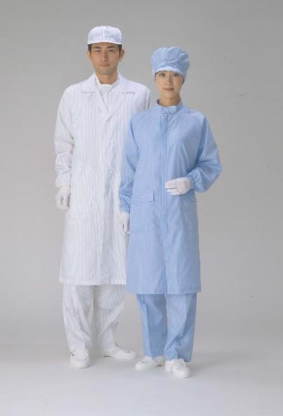 クリーンルーム用実験衣 研究室 実験室など 送料無料お手入れ要らず クリーン実験衣 2020新作 テーラータイプ