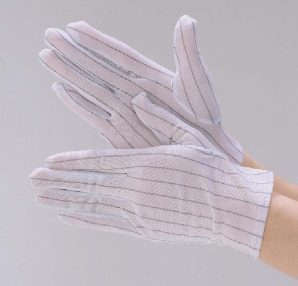 ケバの少ない静電気防止加工を施した手袋です 送料無料 ポリエステル静電手袋 品質保証 10双 1袋