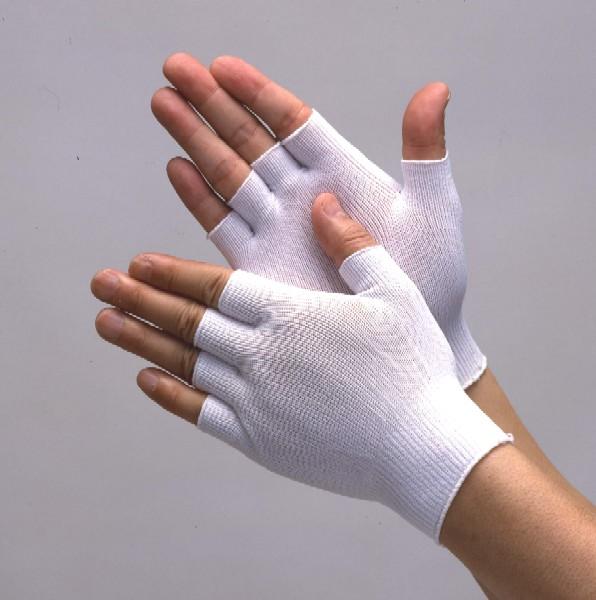縫目がなく伸縮性に富みフィット性に優れた手袋です 2020 2020 新作 新作 ニット手袋 10双 指無しタイプ