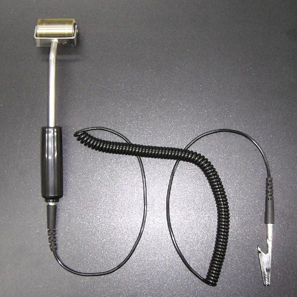 直営ストア 平面上の異物除去に適したアース線付き導電性粘着ゴムローラー 購入 アース線付き導電性ペタローラーPR230-ASE