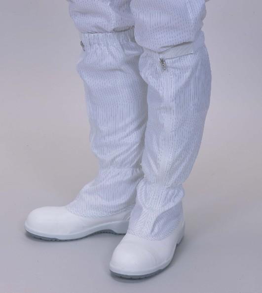 軽くて疲れにくい静電防止加工安全靴です 購入 買物 クリーンシューズ 安全靴タイプ PU底