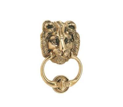 ドアノッカー ライオン