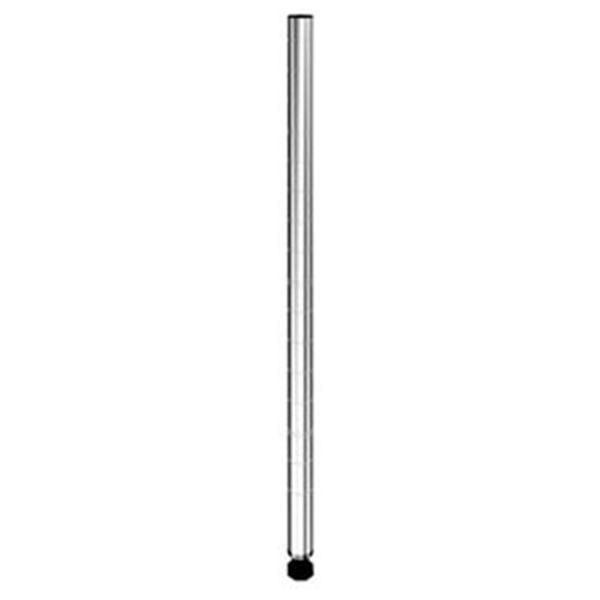 【ルミナススチールラック】【ポール径19mm】【メーカー直送代引不可】 [PHT-0046SL]ポール長さ46cm【ポール径19mm】【メーカー直送代引不可】